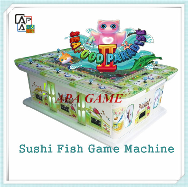 New four sharks legend fishing game machine for Fish game machine
